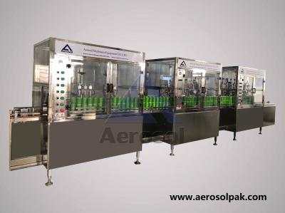 AF-90L Straight Aerosol Filling Machine