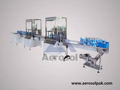 AB-2A Automatic Bag-on-valve Aerosol Filling Machine