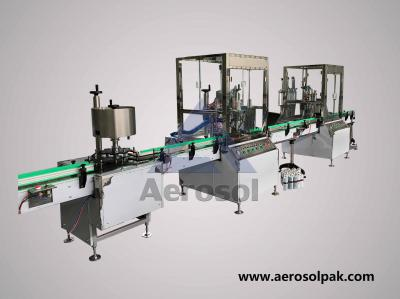 AP-50 Automatic Spray Paint Aerosol Filling Machine